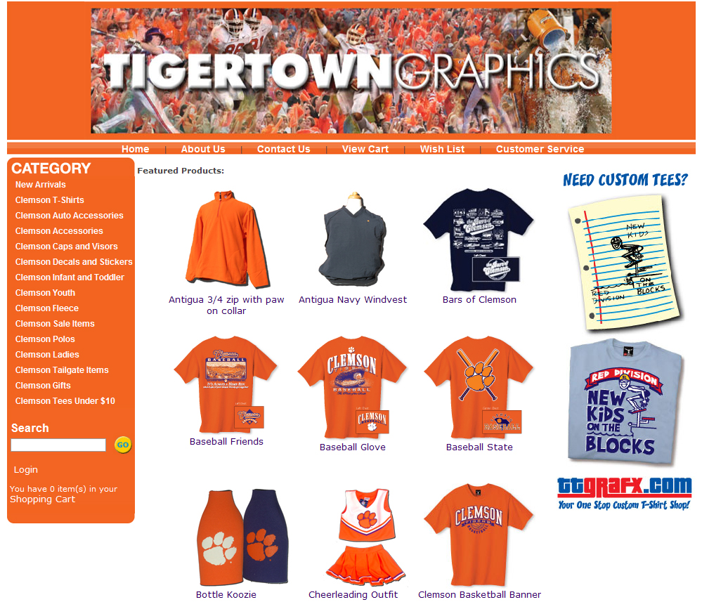 Tiger Town Graphics